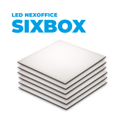 LED NEXOFFICE SIXBOX PREMIUM 60X60 40W NB